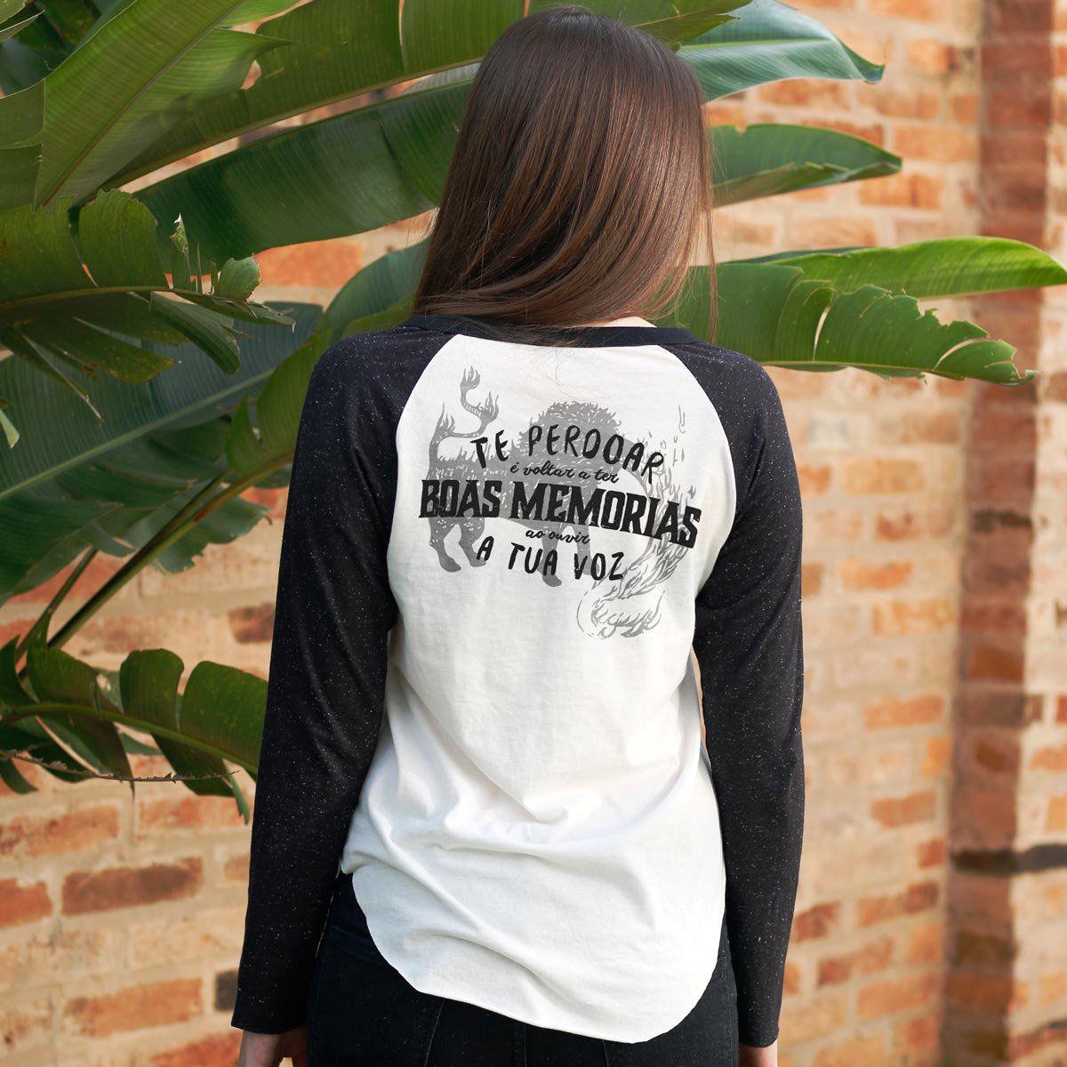 Camiseta Manga Longa Feminina Fresno Boas Memórias