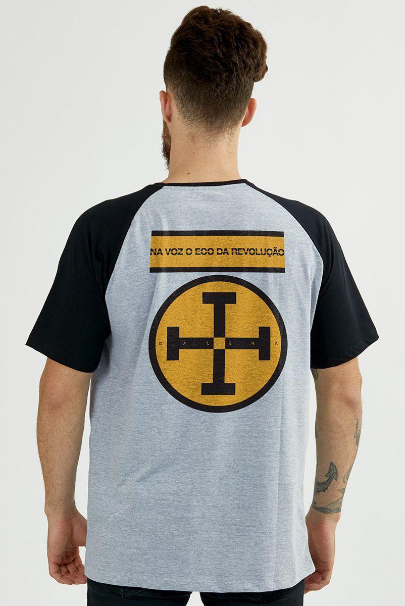 Camiseta Raglan Masculina Fresno Na Voz