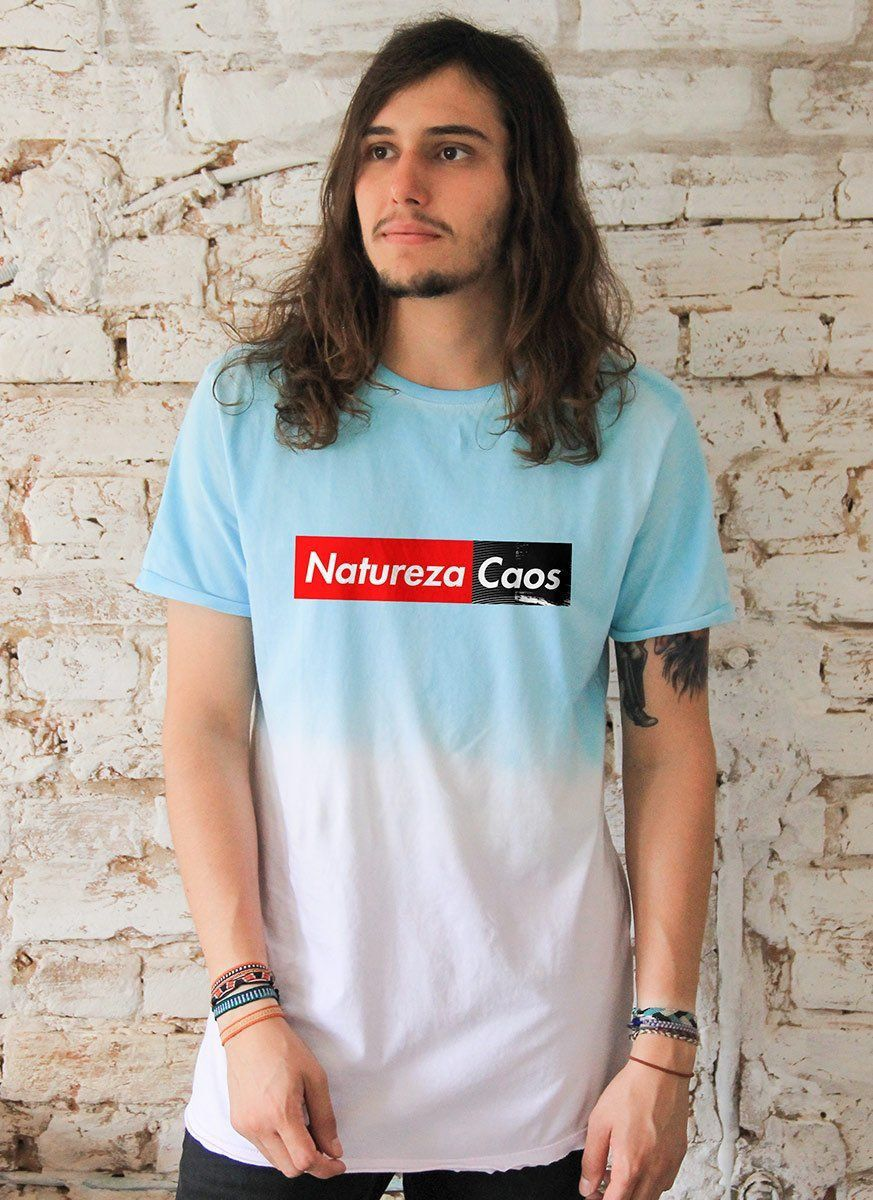 Camiseta Tie Dye Masculina Fresno Natureza Caos Colors