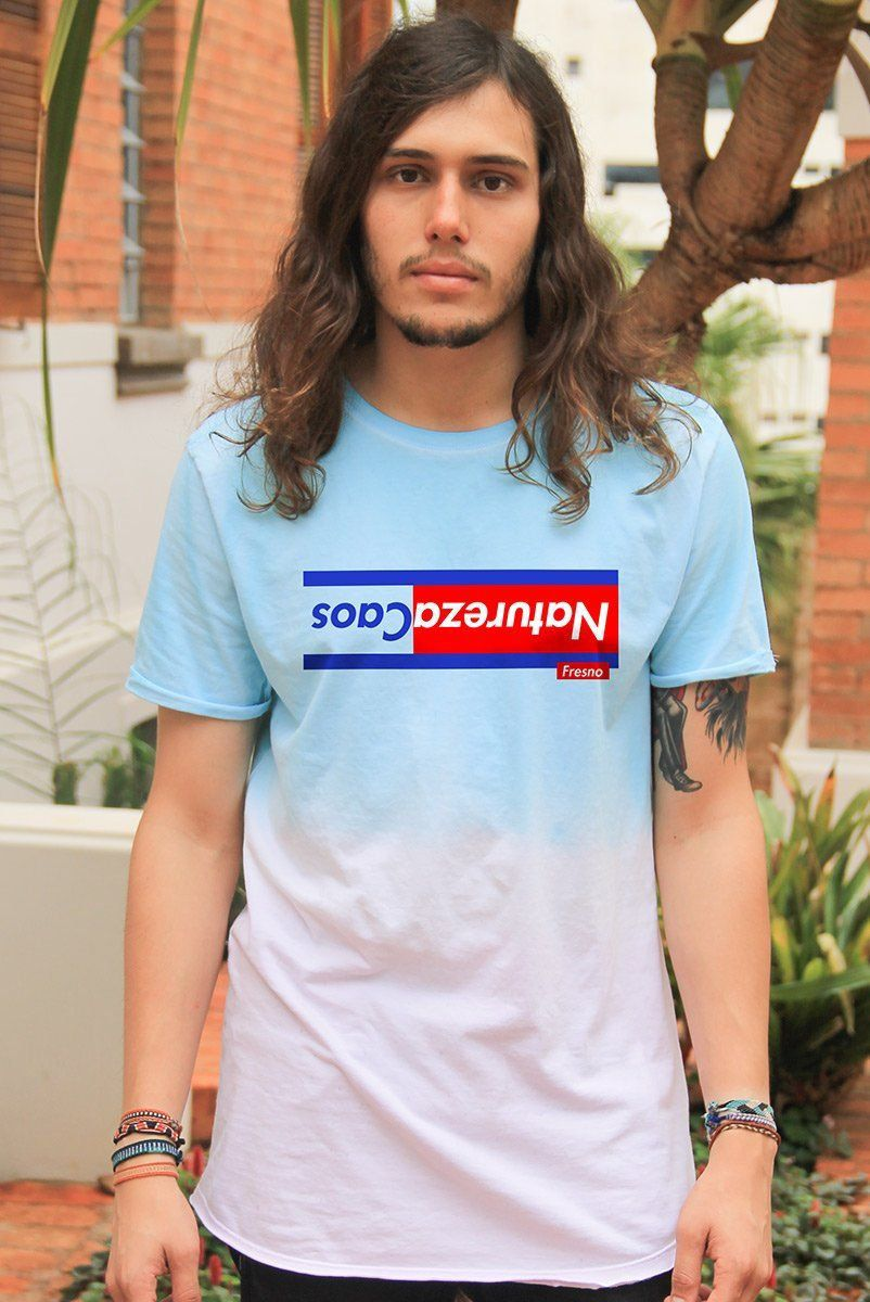 Camiseta Tie Dye Masculina Fresno Natureza Inversa