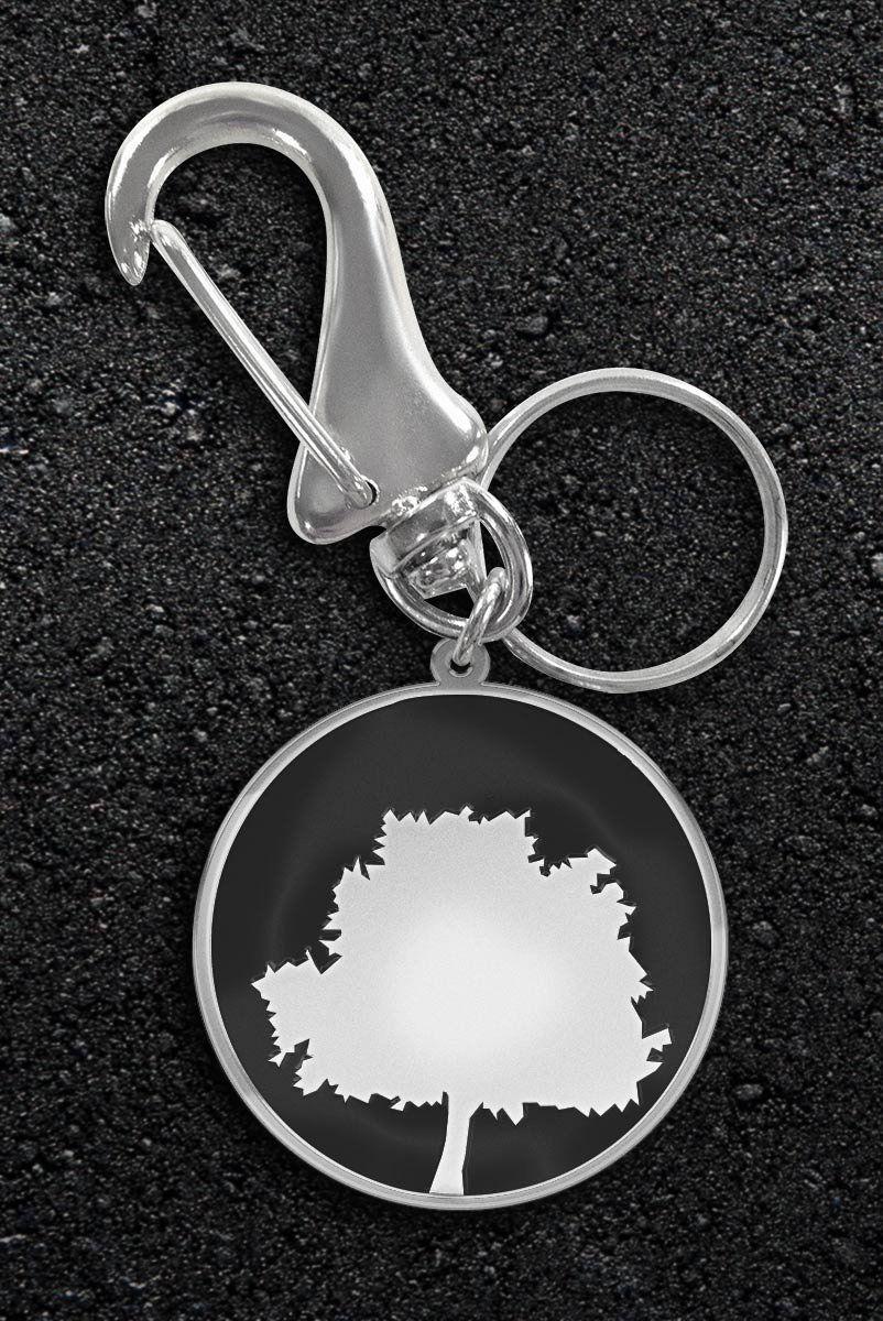 Chaveiro de Metal Fresno Logo Árvore