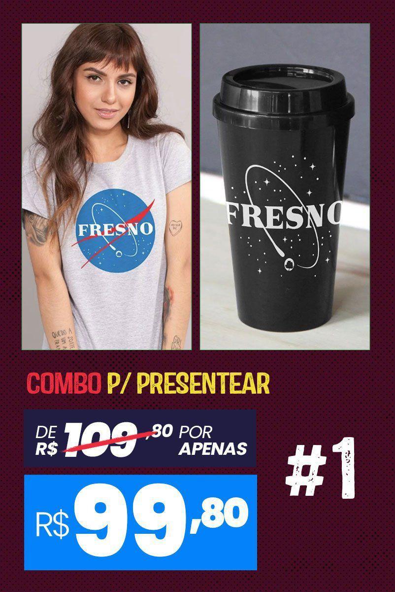 Combo Feminino Fresno Programa Espacial