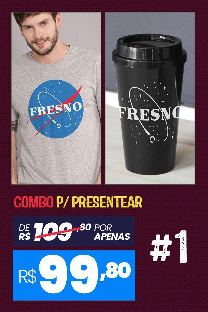 Combo Masculino Fresno Programa Espacial
