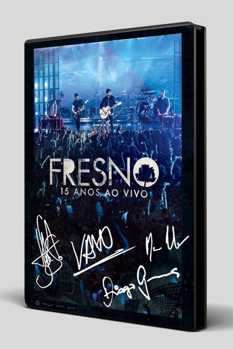 DVD Fresno 15 Anos ao vivo Autografado