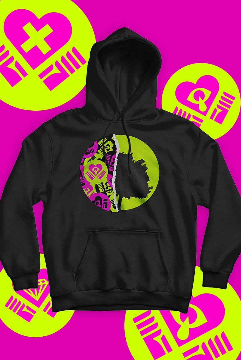 Pré-Venda Moletom Feminino Fresno Quarentemo 2.0 Logo