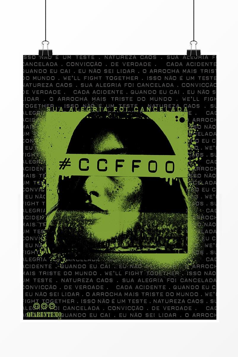Pôster Fresno Quarentemo 3.0 #CCFF00