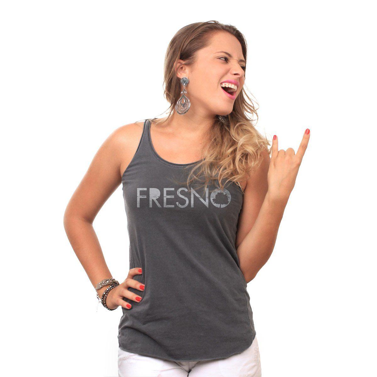 Regata Premium Feminina Fresno Logo Oficial