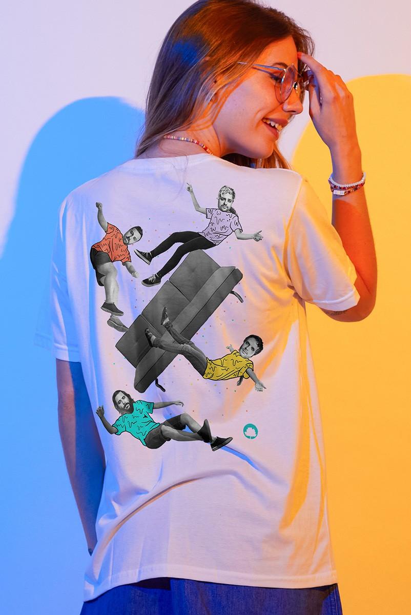 T-shirt Feminina Fresno Carnaemo Em Casa
