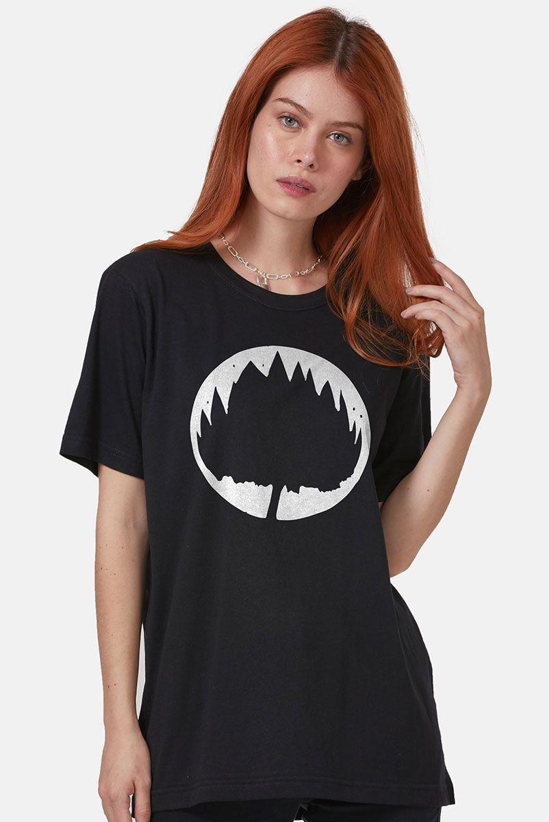 T-Shirt Feminina Fresno Sua Alegria Foi Cancelada Logo