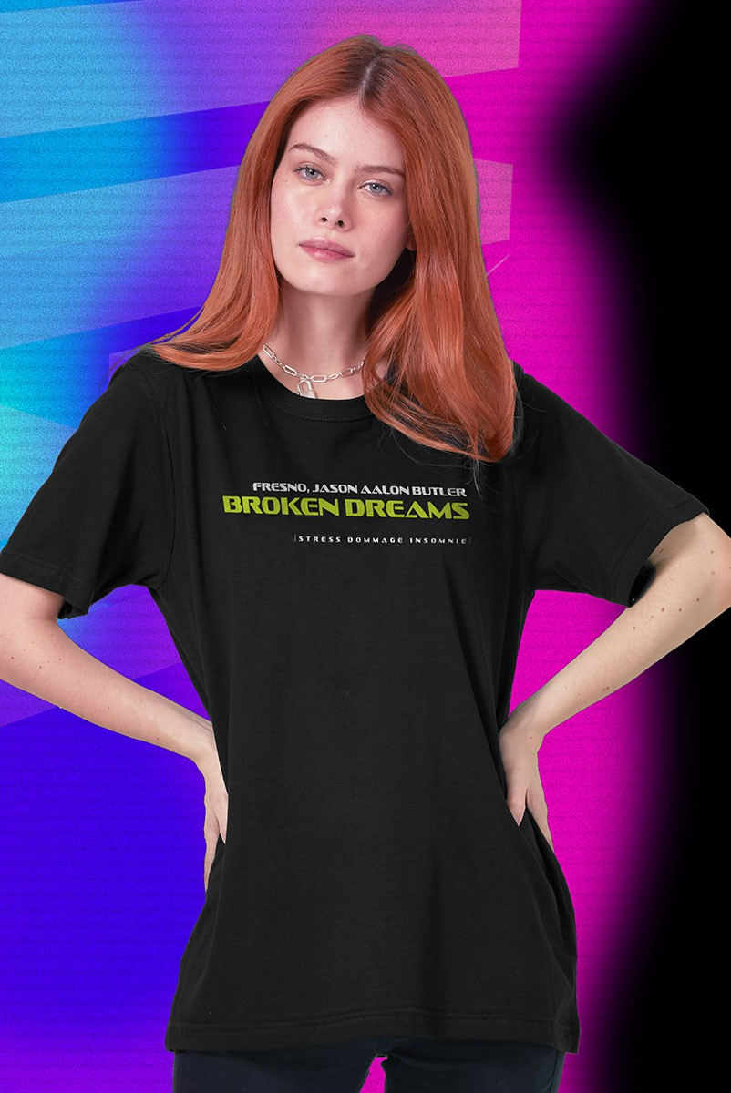 T-shirt Feminina Fresno X Jason Aalon Butler Broken Dreams
