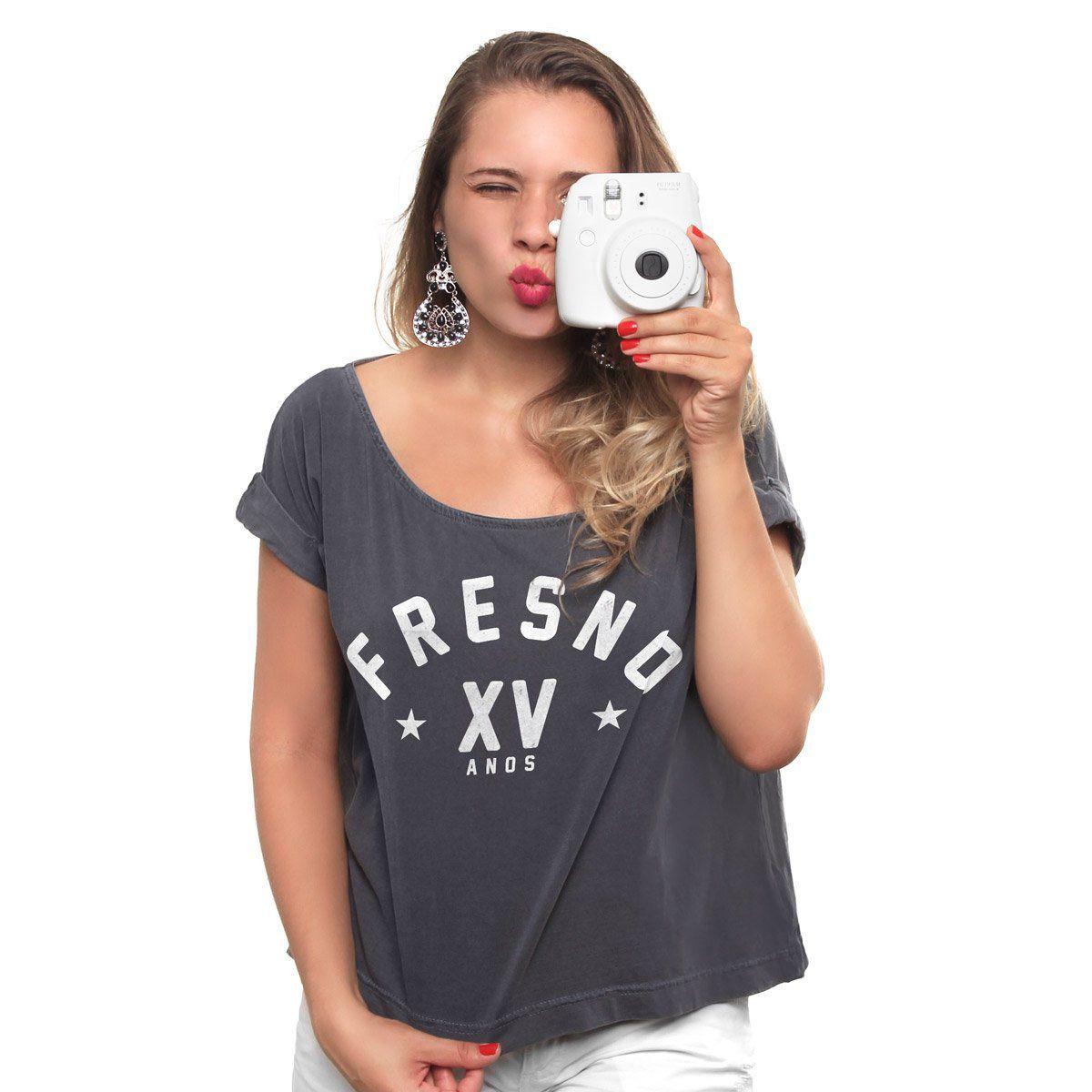 T-shirt Premium Feminina Fresno XV Anos Star