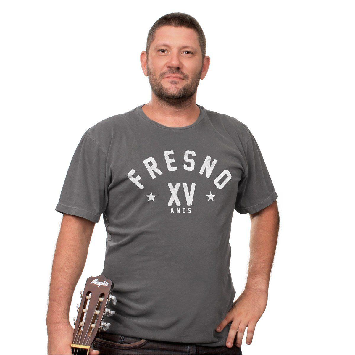 T-shirt Premium Masculina Fresno XV Anos Star