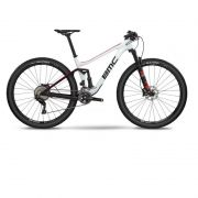 BICICLETA BMC AGONIST 02 ONE ARO 29 FULL SUSPENSION XT BRANCA E VERMELHA