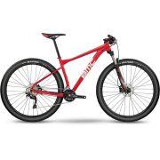 BICICLETA BMC TEAMELITE 03 THREE ARO 29 DEORE 20V VERMELHA TEAM RED