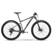 BICICLETA BMC TEAMELITE 03 TWO ARO 29 SRAM NX EAGLE 11V CINZA PRETA E VERMELHA 2019