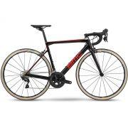 BICICLETA BMC TEAMMACHINE SLR01 FOUR SPEED CARBONO ULTEGRA 22V VERMELHA E CINZA 2019