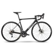 BICICLETA BMC TEAMMACHINE SLR02 DISC TWO SPEED CARBONO ULTEGRA 22V PRETA E CINZA 2019