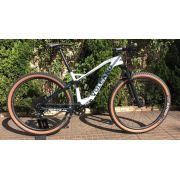 BICICLETA SOUL VOLCANO SUPER LIGHT CARBONO ARO 29 FULL SUSPENSION SRAM NX EAGLE CUSTOMIZADA