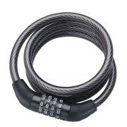 CADEADO ESPIRAL ZOLI 1.85MX12MM COM SEGREDO PRETO - ISP