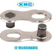 EMENDA DE CORRENTE POWER LINK KMC 12 VELOCIDADES PRATA CL552 - ISP