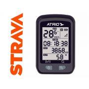 GPS ATRIO IRON PARA CICLISMO 22 HORAS IPX6 RESISTENTE A AGUA ILUMINACAO TELA 1,9 POL - BI091