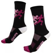 MEIA HUPI CICLISTA COLORFUL COLLECTION PACE ROSA 495-108