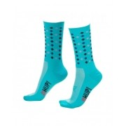 MEIA HUPI CICLISTA COLORFUL COLLECTION VERDE POINTS 495-20