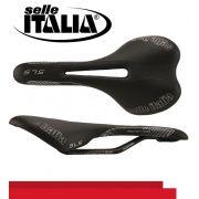 SELIM SELLE ITALIA SLS ML XC FLOW TRILHO MAGNESIO PRETO 218G.