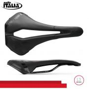 SELIM SELLE ITALIA X-LR TM AIR CROSS SUPERFLOW L3 TRILHO MANGANES PRETO 224G.