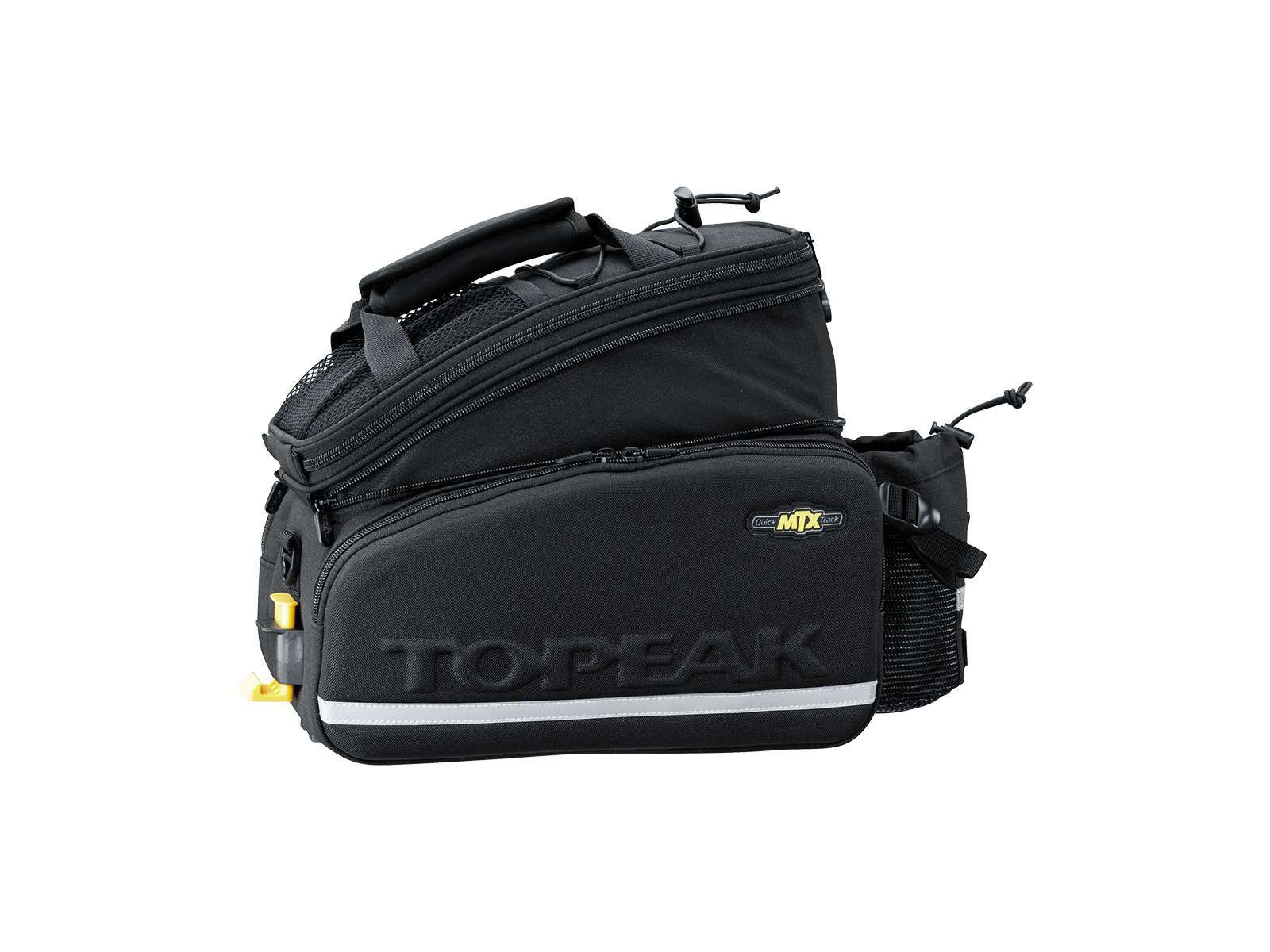 ALFORJE TOPEAK MTX TRUNK BAG DX COM LATERAL EXPANSIVEL 12.3 LITROS