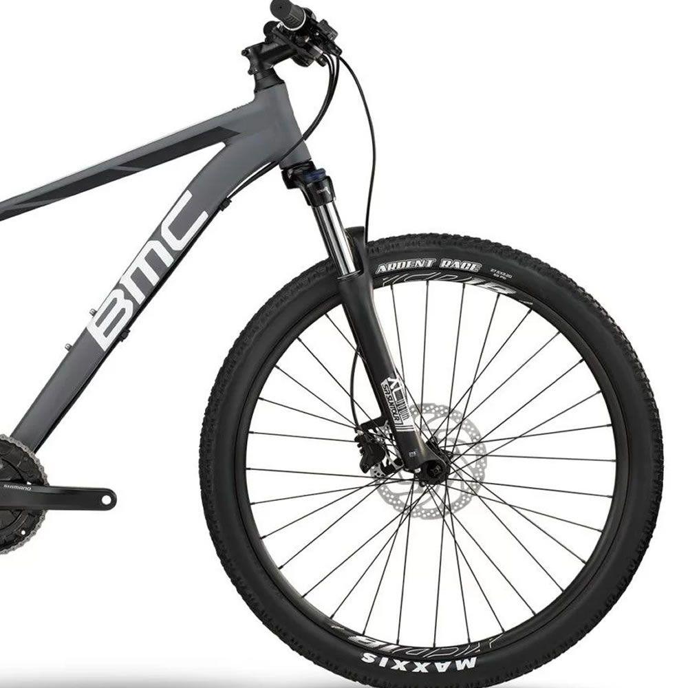 BICICLETA BMC SPORTELITE SE THREE ARO 27.5 ALIVIO/ACERA CINZA E BRANCA