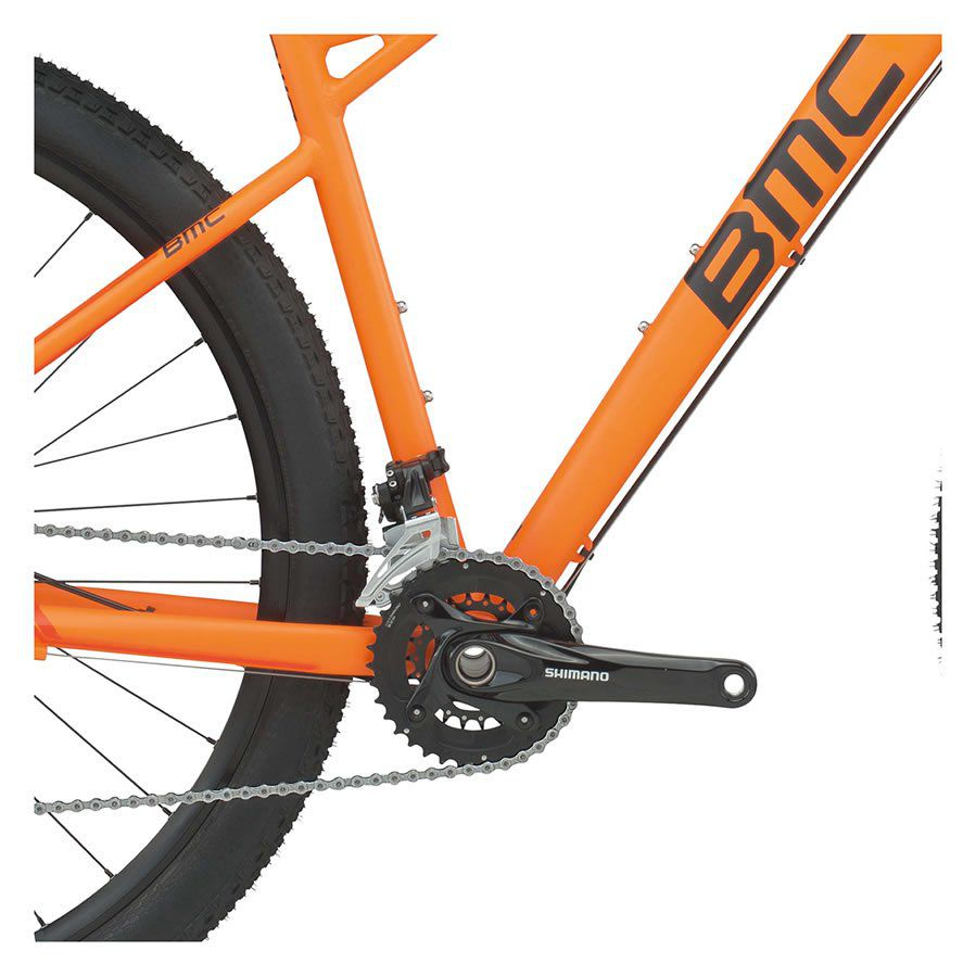 BICICLETA BMC TEAMELITE 03 ARO 29 DEORE SLX LARANJA