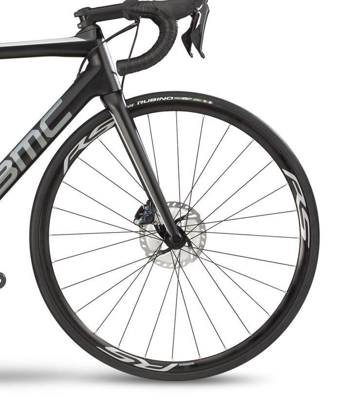 BICICLETA BMC TEAMMACHINE SLR02 DISC TWO SPEED CARBONO ULTEGRA 22V PRETA E CINZA 2019