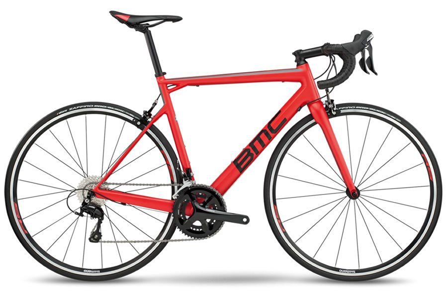 BICICLETA BMC TEAMMACHINE SLR03 ONE SPEED 22V 105 CARBONO SUPER RED