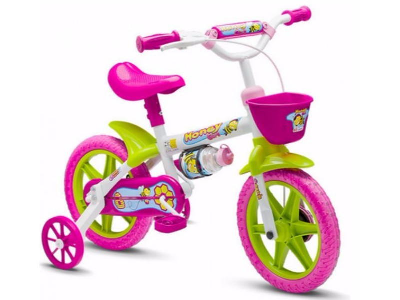BICICLETA NATHOR ARO 12 HONEY