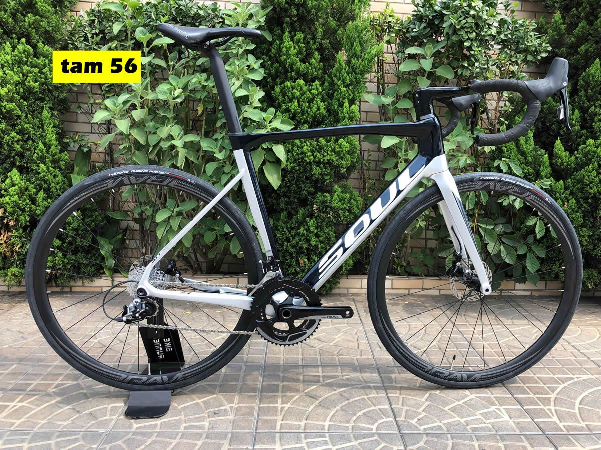 BICICLETA SOUL 3R5 DISC AERO SPEED SRAM RIVAL 22V CUSTOMIZADA