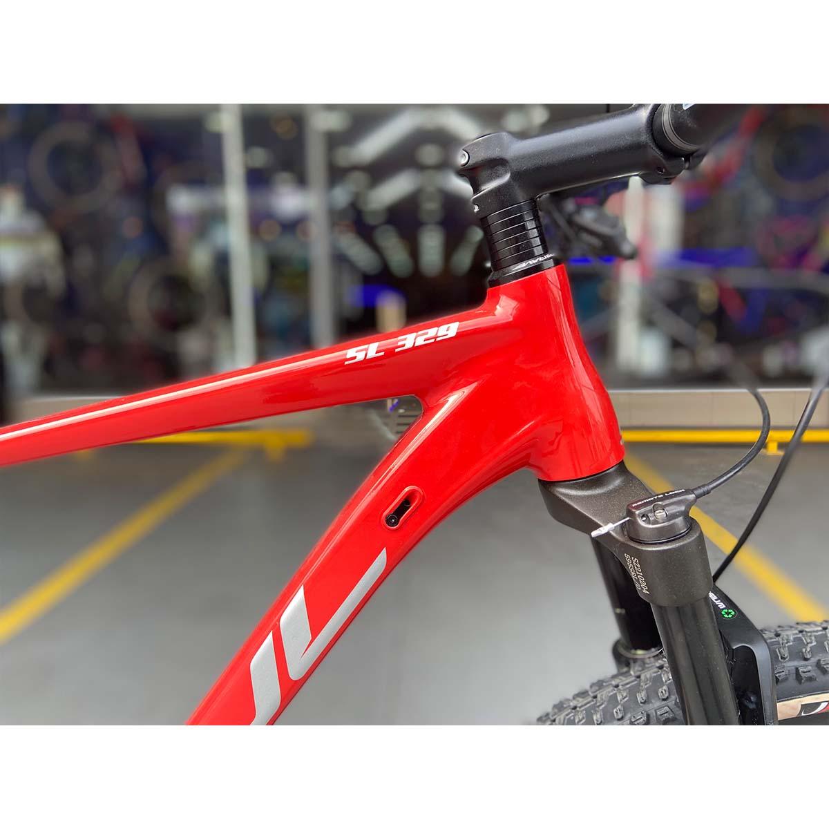 Bicicleta Soul SL 329 Aro 29 12V Sram SX Degrade Vermelha e Preta  21