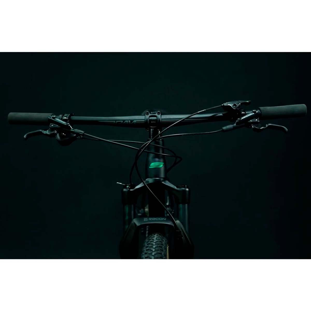Bicicleta Soul SL 529 Aro 29 12V Sram NX Boost Degrade Verde e Turquesa 21