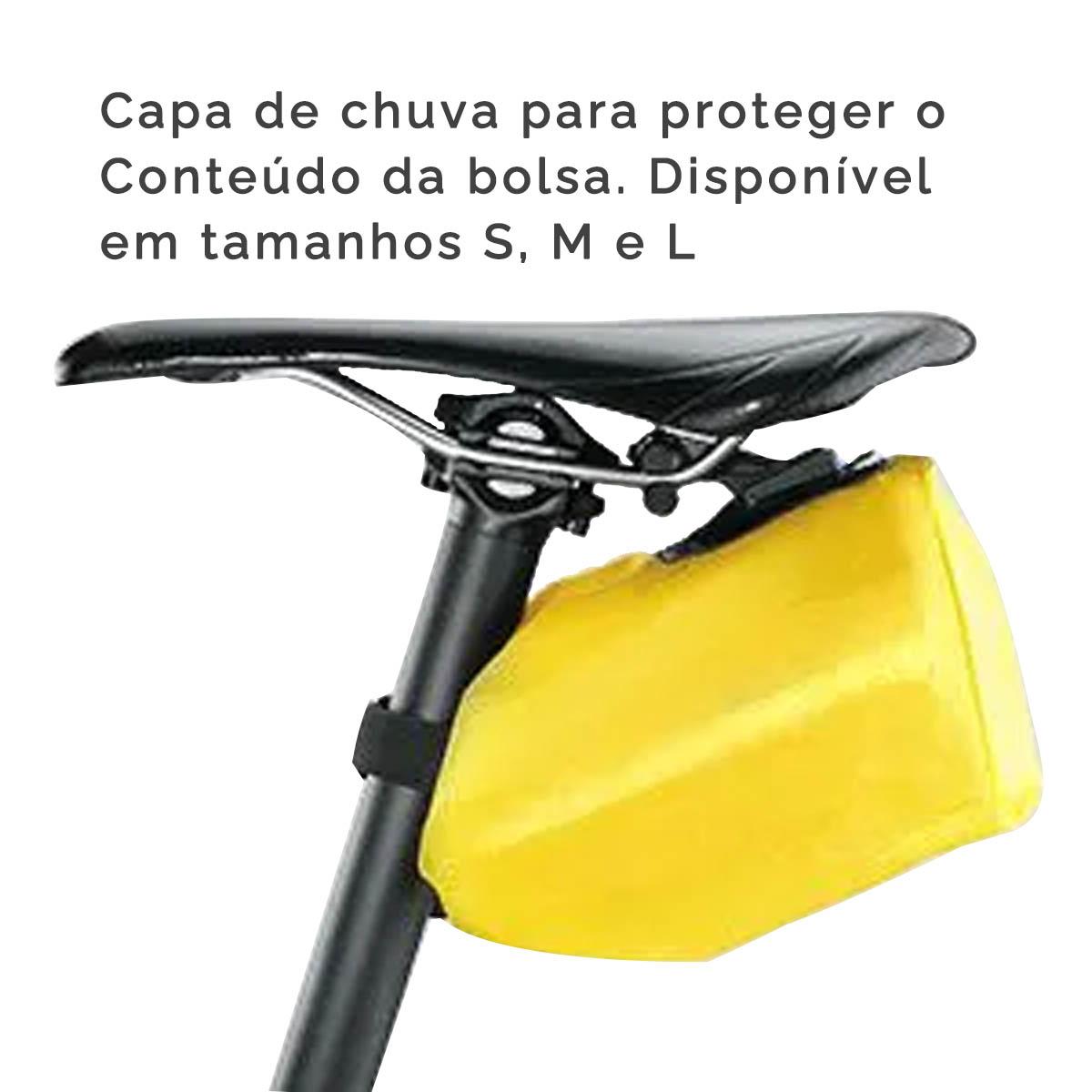 BOLSA DE SELIM TOPEAK WEDGE PACK II Q-CLICK PRETA GRANDE - TC2273B