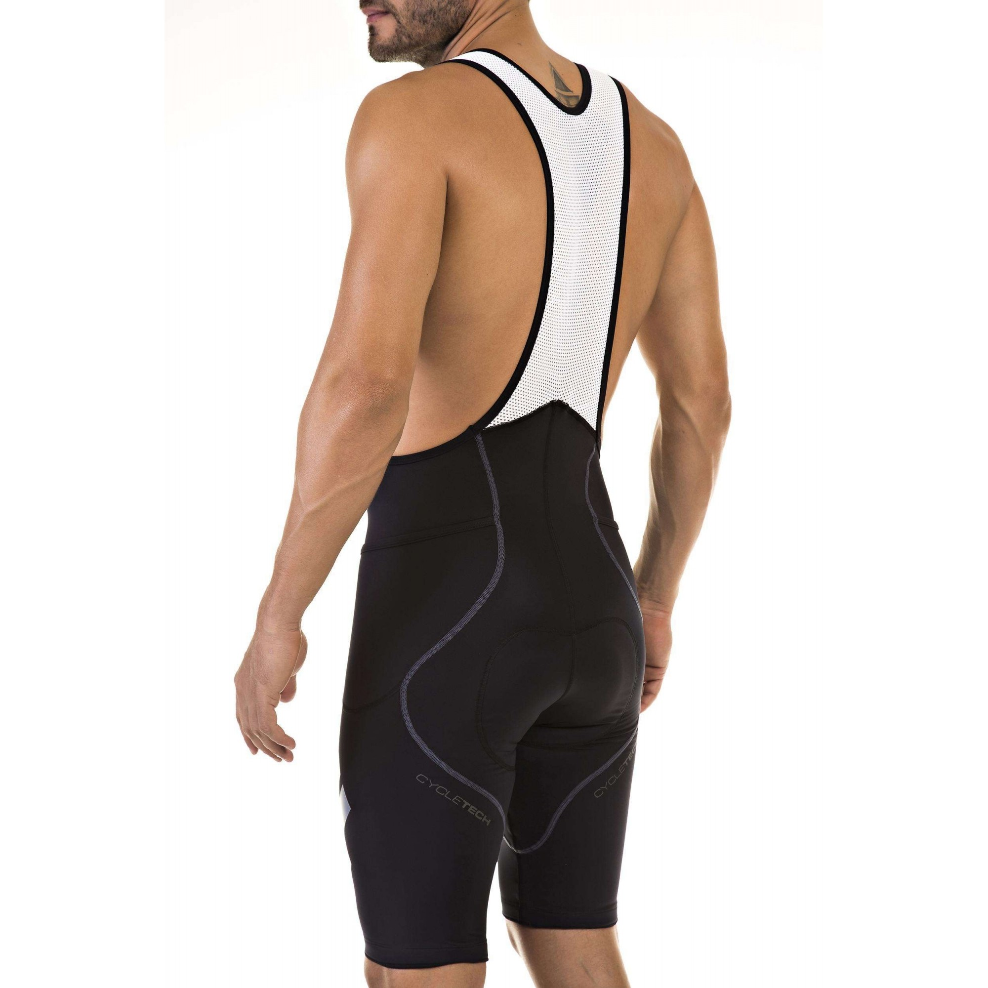BRETELLE FLETS MASCULINO BASIC COMPRESSION PRETO