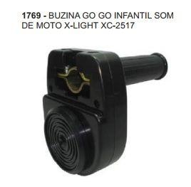 BUZINA GO GO INFANTIL SOM DE MOTO X-LIGHT XC-2517