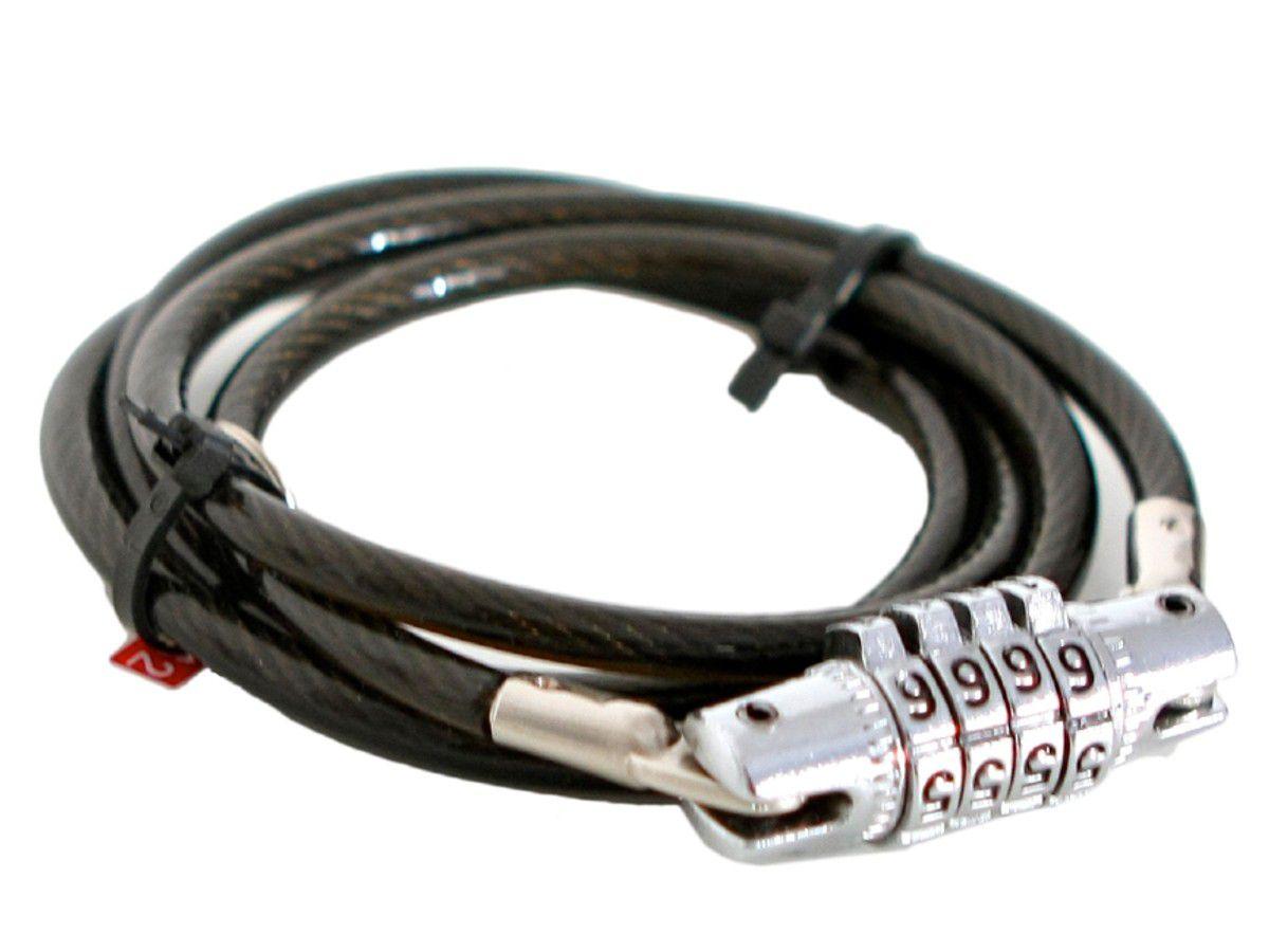 CADEADO FORT COM SEGREDO 1,5MX10MM ESPIRAL - ISP