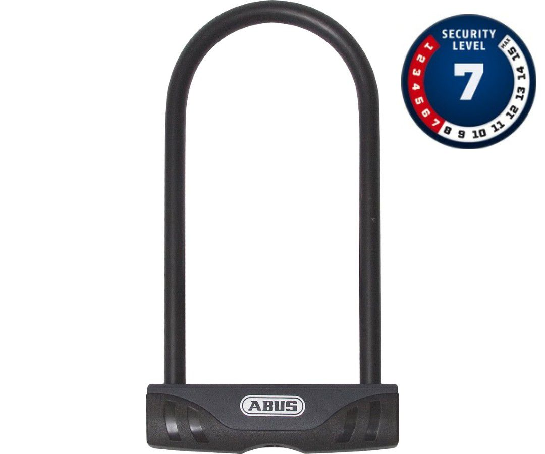CADEADO TRAVA U-LOCK ABUS FACILO 32 ´7 - 230X109MM PRETO BIKE