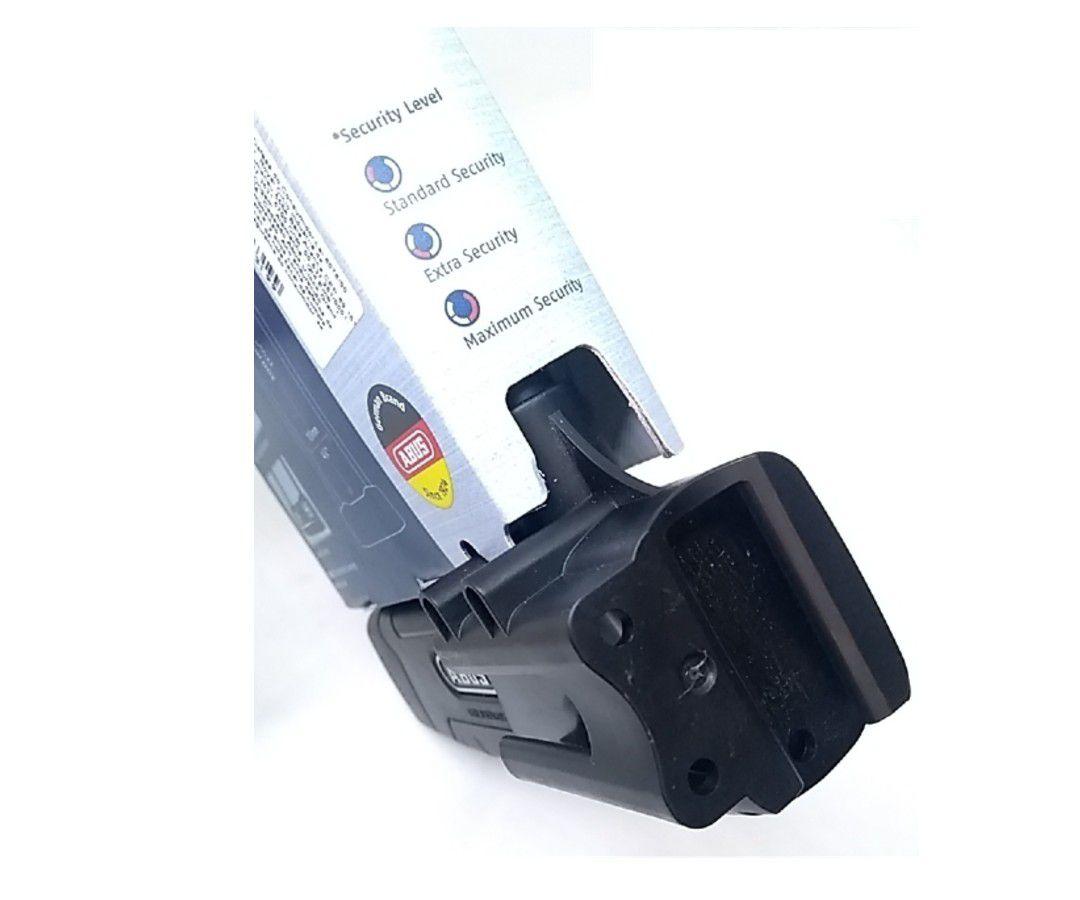 CADEADO TRAVA U-LOCK ABUS GRANIT PLUS 470 ´12 - 300X109MM PRETO BIKE