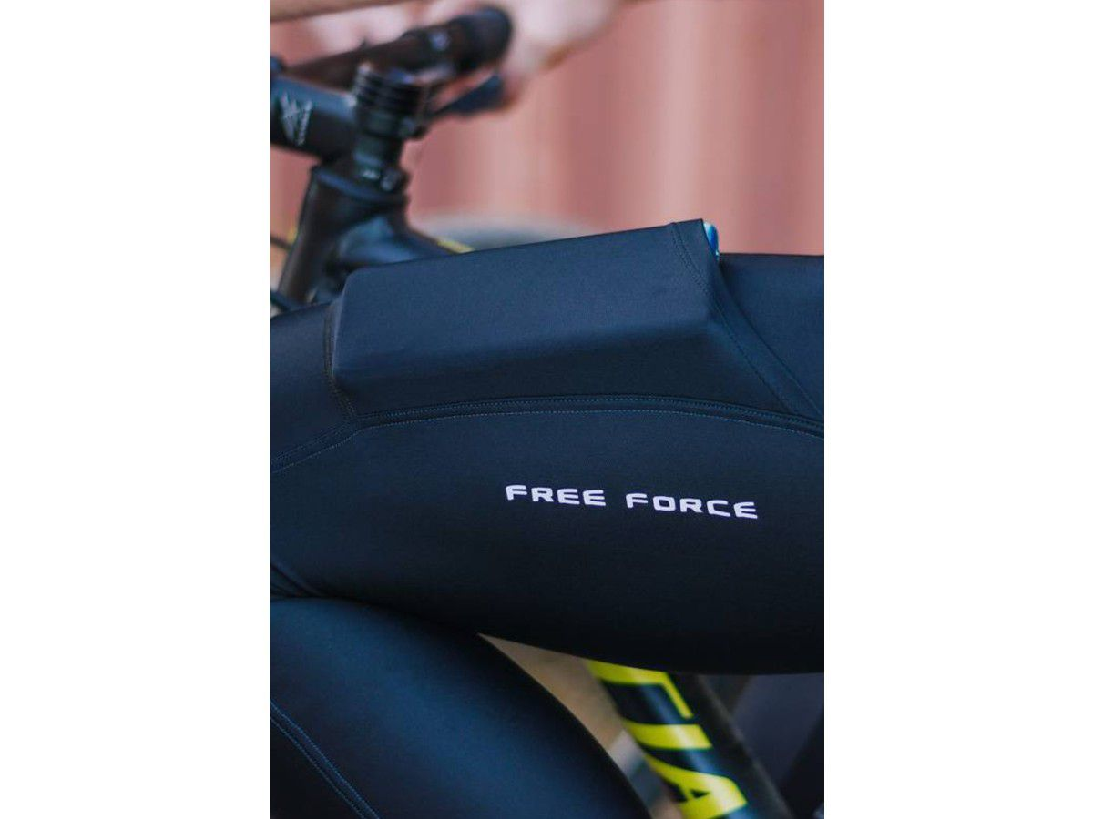 CALCA FREEFORCE MASCULINA SPORT ONE PRETA CICLISMO