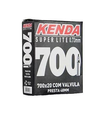 CAMARA 700X20C KENDA SUPERLIGHT 0.73MM VALVULA PRESTA 48MM - ISP