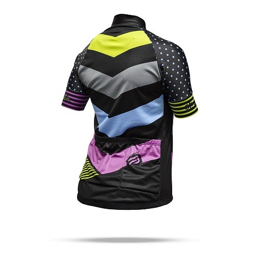 CAMISA ASW FEMININA ACTIVE QUEEN PRETA COLORIDA