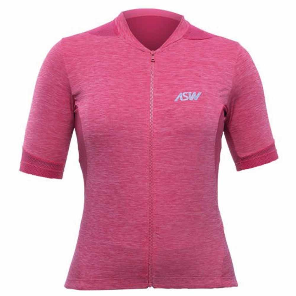 CAMISA ASW FEMININA ESSENTIALS PINK BIKE 20