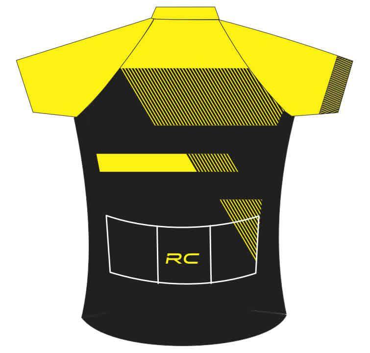 877e2a30e5 CAMISA BIKE TOUR SCOTT RC TEAM PRETA E AMARELA - Loja Bike Runners ...