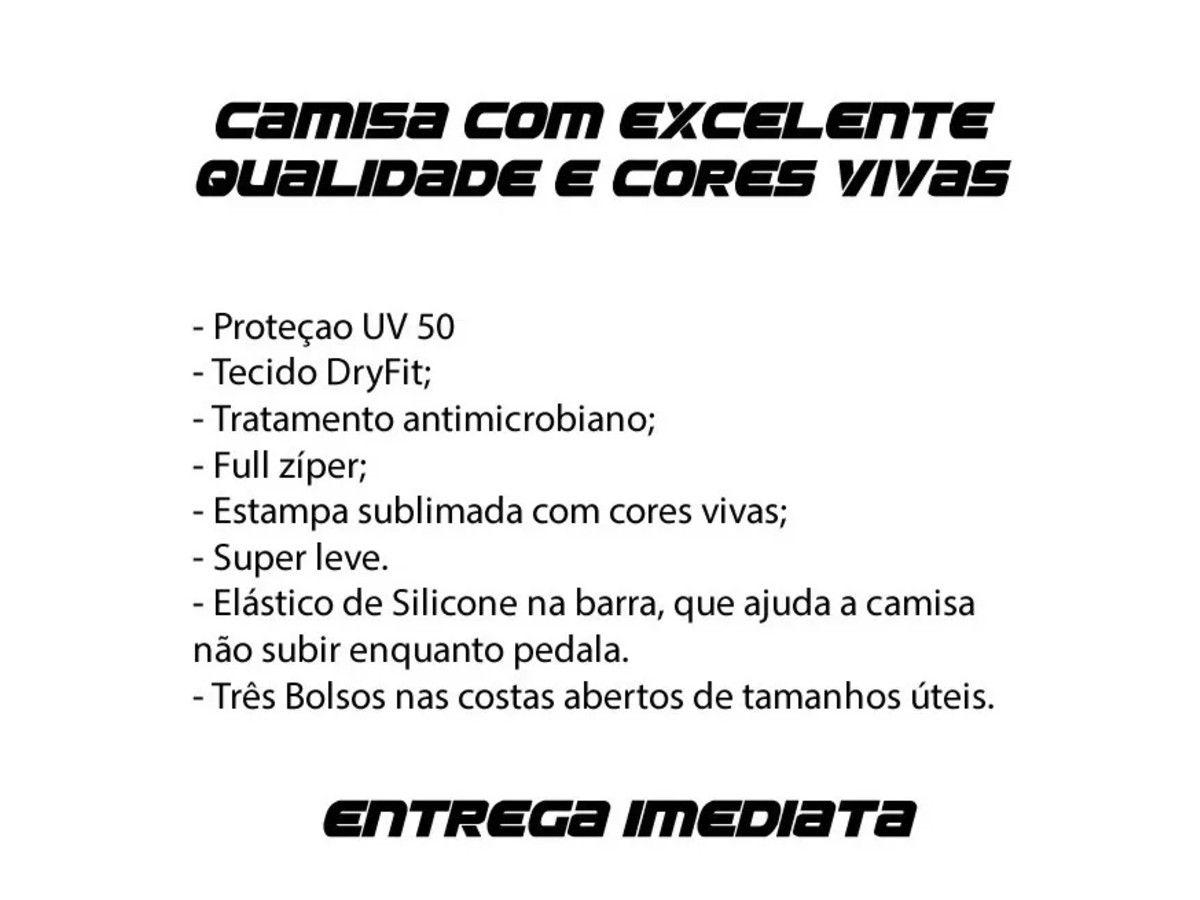 CAMISA CICLISMO METALLICA PRETA ROCK